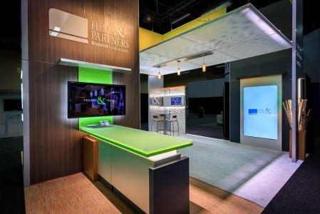 Hill & Partners celebrated its 20th anniversary with its EXHIBITORLIVE 2015 booth.
