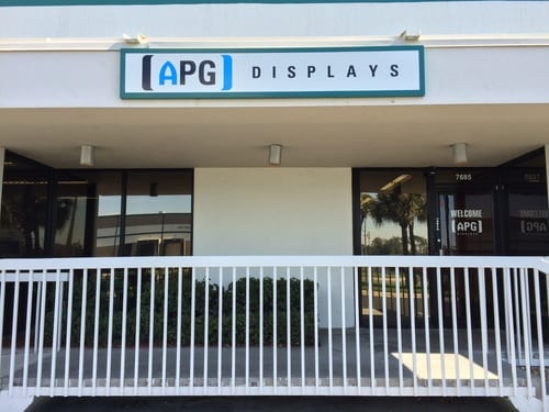 APG Displays enters U.S. market with office in Orlando.