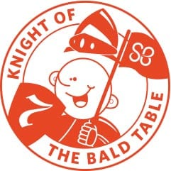 Zig Zibits honored as 'Knights of the Bald Table'