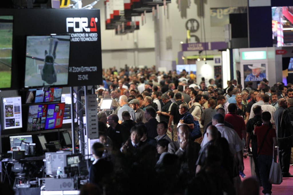 The 2015 edition of NAB Show exceeded 100,000 in attendance.