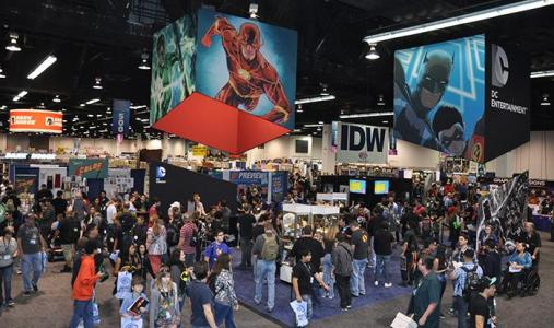Sister show to Comic Con, WonderCon will be hosted in Los Angeles in 2016. Photo credit: Rudy Manahan
