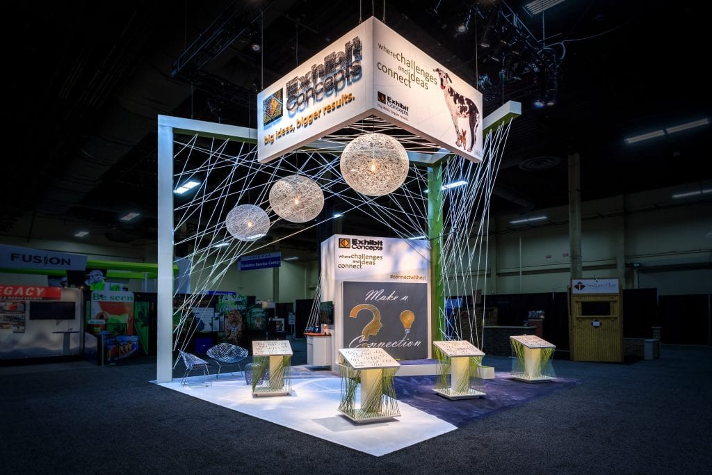 Exhibition Booth Concept : The ties that bind how to unify booth brand exhibit