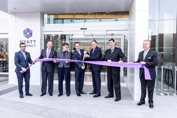 Hyatt Regency Tysons Corner Center Ribbon Cutting 1. Credit- Rassi Borneo with Timeline Media (web)