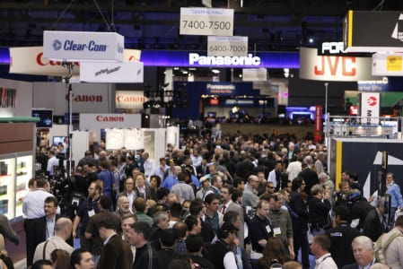 NAB Show hits milestone with over 200 first-time exhibitors and expanded show floor exceeding 1M square feet.