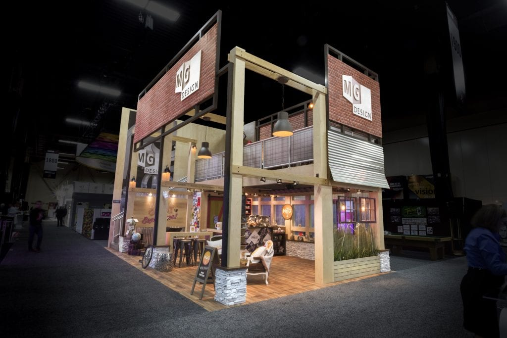 Exhibition Booth Structure : The ties that bind how to unify booth brand exhibit