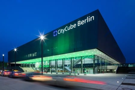 ECN 052015_INT_CityCube Berlin celebrates year one of operation_CityCube Berlin night_IGW2015_red