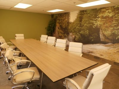 The conference room Photo credit: Kristan Obeng