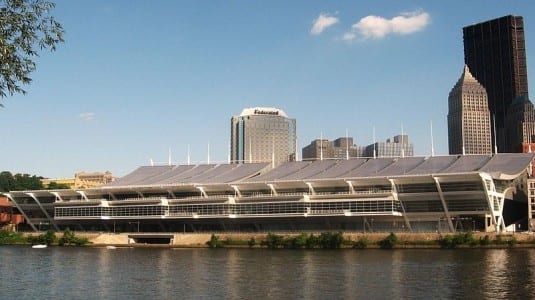David L. Lawrence Convention Center in Pittsburgh, Pa.