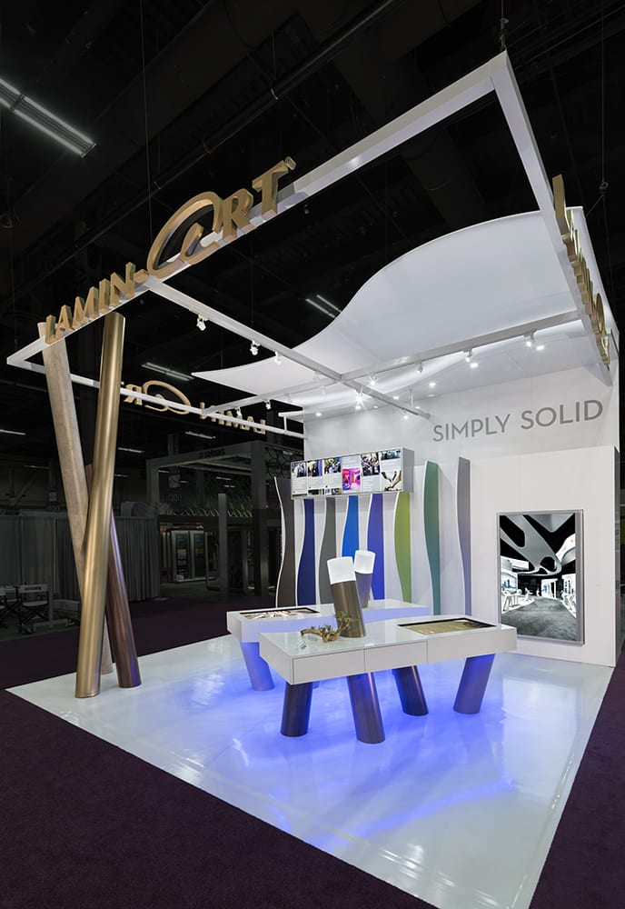 3d Exhibition Booth Design : D exhibits recognized for booth design at globalshop