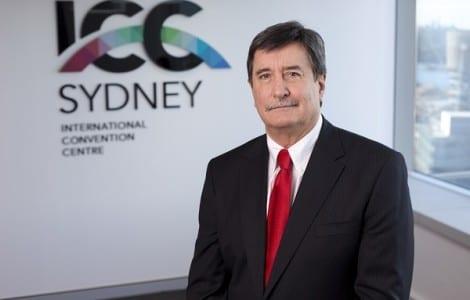 Geoff Donaghy, CEO, ICC Sydney