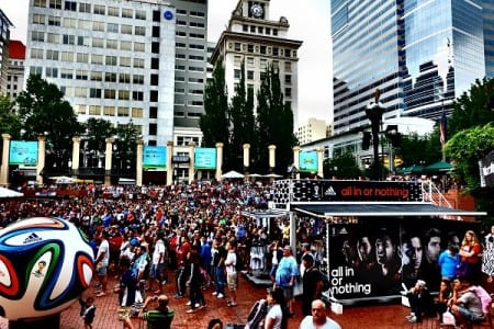 Adidas pop-up store during the 2014 World Cup (web)