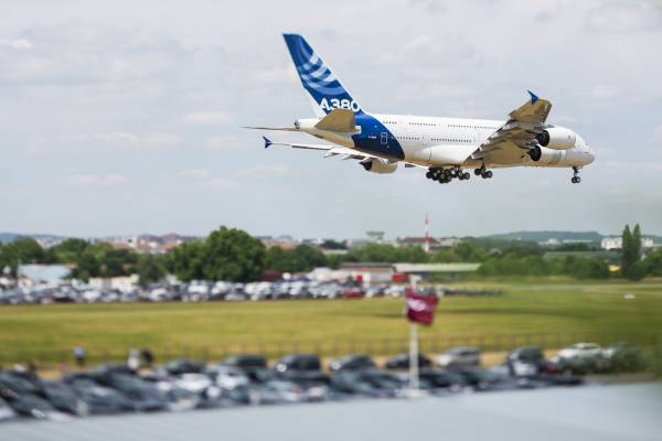 """Two """"Best in Show"""" stands larger and smaller than 36 square meters awarded at biennial Paris Air Show"""