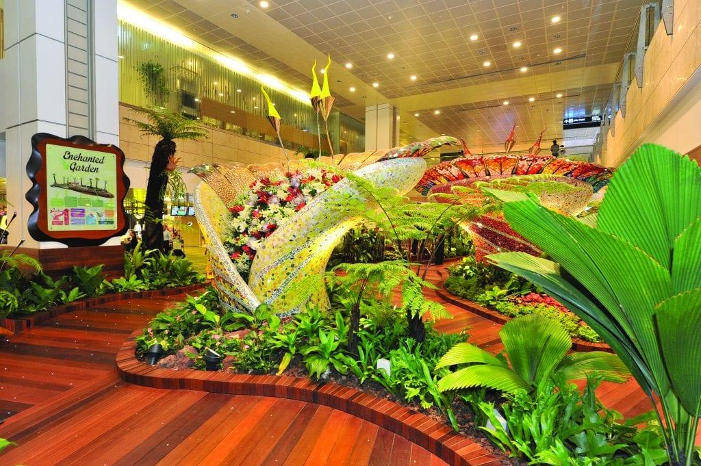 Enchanted Garden at Singapore Changi Airport