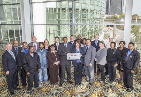 The GMIC award is the fourth for Cobo Center related to sustainability efforts
