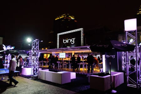 A VIP area for Bing