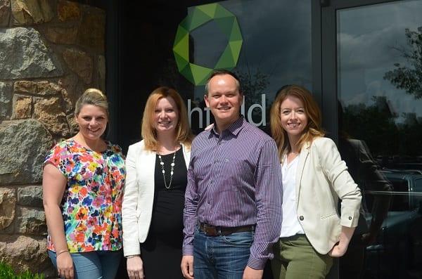 From left to right: Laura Brown, Siân Pedersen, Gavin Houston, Katie Koziol