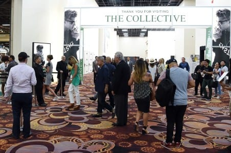 Photo credit: Ethan Miller/Getty Images  Mandalay Bay Convention Center welcomed MAGIC on Aug. 18 after completing the first phase of its expansion.
