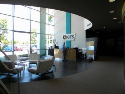GES' facility in Las Angeles.