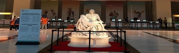 Pieta Replica at PACC
