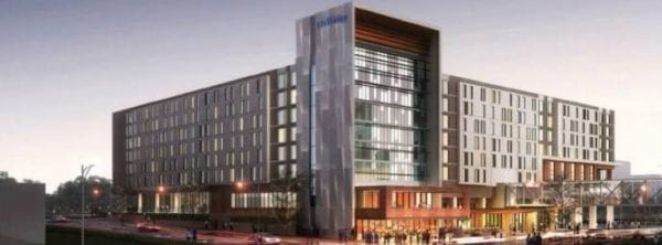 Attached Convention Center Hotel Breaks Ground in Des Moines