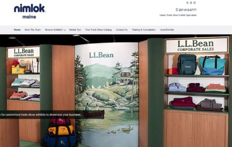 Nimlok Maine Launches New Website to Highlight Expertise in Exhibit and Display Solutions
