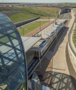 Denver Launches Airport Rail Line