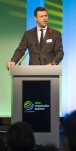 World Travel Market 2015, ExCeL, London - WTM Responsible Tourism Debate