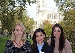 New appts. at Church House Westminster – Nicole Regalario, Gemma Watts and Hannah Draboczy