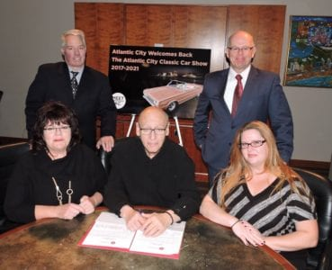 ACCC Welcomes Back The Atlantic City Auction & Car Show for the Next Five Years