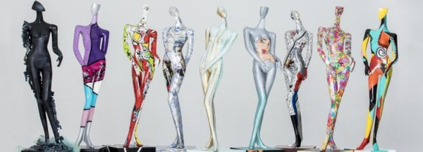 Delano Las Vegas and the LV Fashion Council Bring Mannequin Art Exhibit to Life