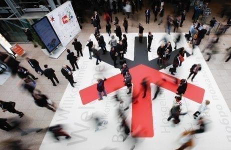 Duesseldorf, DEU. 18.02.2014. EuroShop 2014, The World´s Leading Retail Trade Fair, vom 16. bis 20. Februar Maerz 2014 in Duesseldorf. Die EuroShop ist sowohl die weltweit groesste Investitionsguetermesse fuer den Handel und seine Partner, als auch eine unerlaessliche Plattform fuer Zukunftstrends, Visionen und Retail-Impressionen zum Anfassen. Mit 115.472 m² Netto-Ausstellungsflaeche und 2.226 Ausstellern aus 57 Laendern ist sie so gross wie nie zuvor. Die diesjaehrige EuroShop in ihrer 45 jaehrigen Geschichte: ueber 2.000 Aussteller aus 53 Laendern praesentieren neueste Produkte, innovative Loesungen und kreatives Design speziell fuer den Handel auf ueber 107.000 Netto-Quadratmetern Ausstellungsflaeche. EuroShop 2014, The World´s Leading Retail Trade Fair, 16 to 20 February 2014 in Duesseldorf. It is both the world's most important capital goods trade fair for the retail trade and its partners and also an indispensable platform for tangible future trends, visions and impressions. With 115.472 m² net exhibitions space and 2.226 exhibitors from 57 countries, EuroShop 2014 will be bigger than ever before. Foto: Constanze Tillmann, Exploitation right Messe Duesseldorf, M e s s e p l a t z, D-40474 D u e s s e l d o r f, www.messe-duesseldorf.de; eine h o n o r a r f r e i e Nutzung des Bildes ist nur fuer journalistische Berichterstattung, bei vollstaendiger Namensnennung des Urhebers gem. Par. 13 UrhG (Foto: Messe Duesseldorf / ctillmann) und Beleg moeglich; Verwendung ausserhalb journalistischer Zwecke nur nach schriftlicher Vereinbarung mit dem Urheber; soweit nicht ausdruecklich vermerkt werden keine Persoenlichkeits-, Eigentums-, Kunst- oder Markenrechte eingeraeumt. Die Einholung dieser Rechte obliegt dem Nutzer; Jede Weitergabe des Bildes an Dritte ohne Genehmigung ist untersagt | Any usage and publication only for editorial use, commercial use and advertising only after agreement; unless otherwise stated: no Model release, property release or other t
