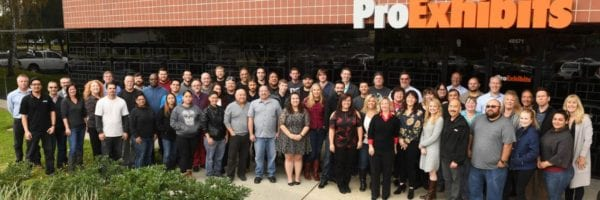 ProExhibits Posts Impressive Sales Gains; Returns Percentage of Profits to Employees