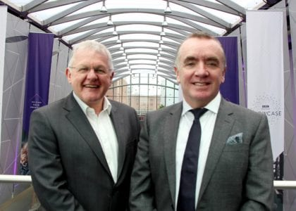 L-R Bob Prattey, chief executive of The ACC Liverpool Group, Ian Ayre, chair of the board (1024x732)
