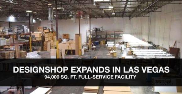 DesignShop Announces Las Vegas Trade Show Facility Expansion