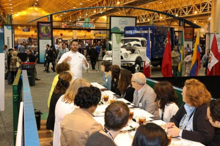 "New Orleans Ernest N. Morial Convention Center's Centerplate Hosts ""Zero Waste Lunch"" at Waste Expo"