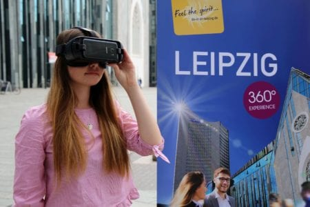 Premiere: Virtual Site Inspection for the Conference City Leipzig in Germany