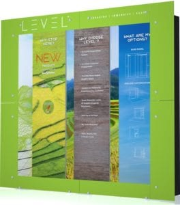 ExpoDisplays' New Product Takes Exhibiting to the Next LEVEL