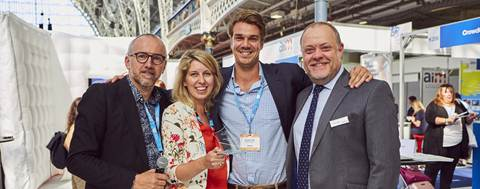 Dutch Event Techno Start-up NetworkTables Wins Future of Meetings Award at London Show