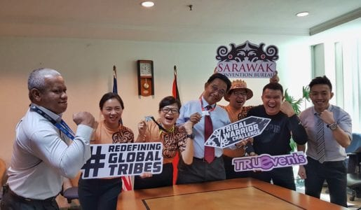 Sarawak's Minister of Tourism Endorses the Inaugural Tribal Warrior Challenge August 19