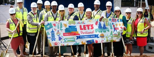 Portland Celebrates Groundbreaking of Highly Anticipated Convention Center Hotel