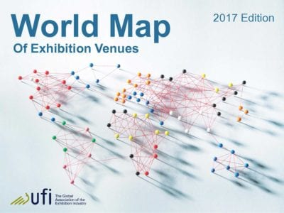 Ufis world map of exhibition venues shows growth of global venue as the total amount of exhibition space available around the world continues to grow exhibition organizers have a more and more diverse choice of venues gumiabroncs Image collections