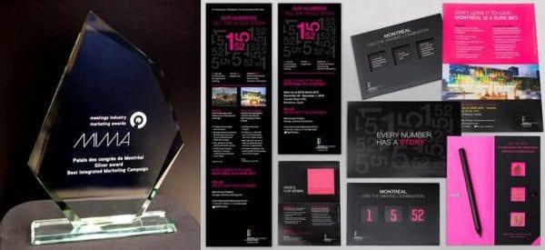 A Palais Des Congrès De Montréal Marketing Campaign Earns International Distinction