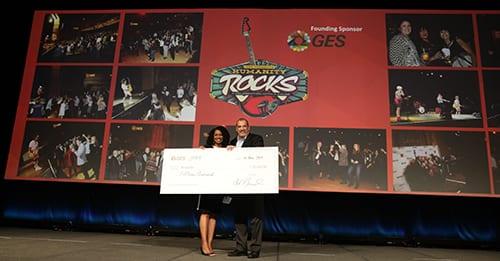 IAEE's Ninth Annual Humanity Rocks Raises Funds for San Antonio Charity