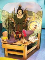 Sparks completes Wizard of Oz exhibit at Miami Children's Museum