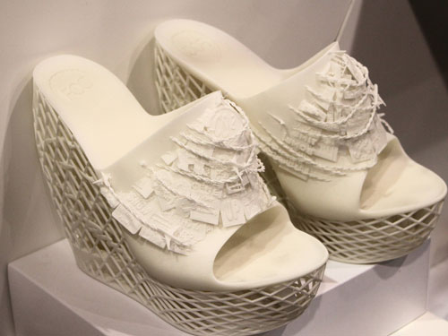 Stylish shoes could be a simple matter of printing from home with 3d printing technology.