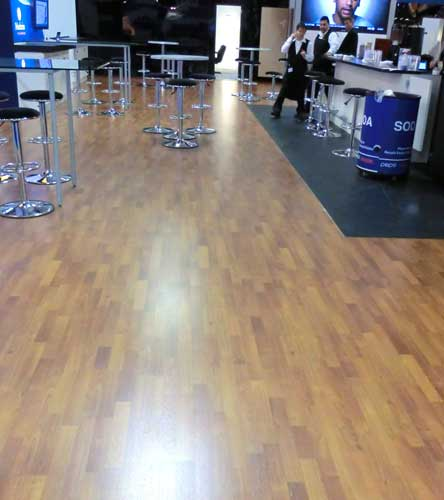 Laminate Flooring Can Be A Cost Effective Way To Present A High End Look
