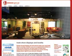 Design Group Exhibits launches new web site