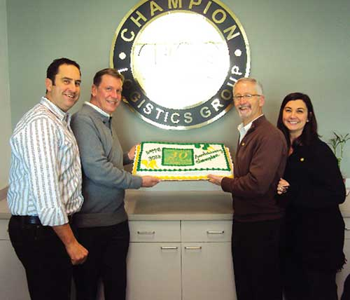 Champion Logistics Group celebrates 30th anniversary