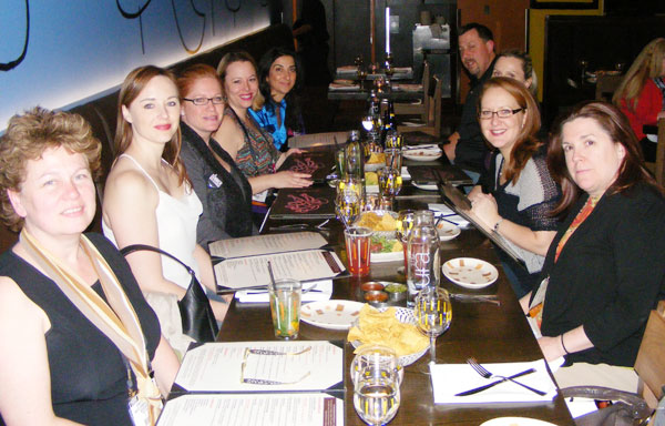 Dinner with Strangers at the Border Grill during EXHIBITOR2012