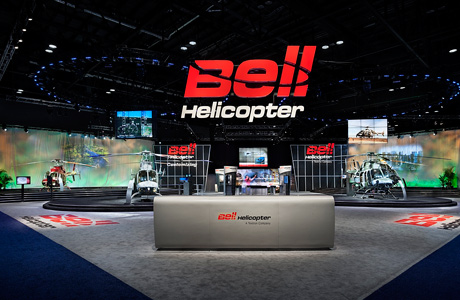 GES supports clients at Heli-Expo 2011 and Paris Air Show